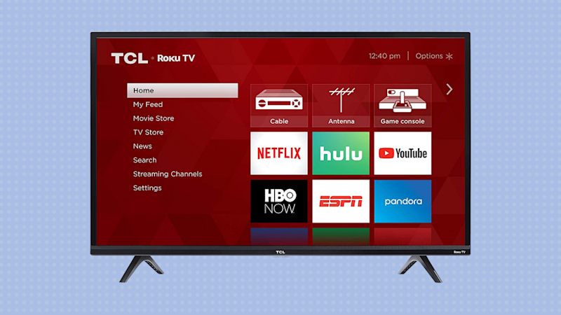 "Ahorra un 44 % en el televisor LED inteligente TCL 50"" 4K Roku TV (50S425) (Foto: Amazon)."