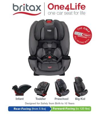 The New Britax One4Life All-in-One Car Seat is Now Available