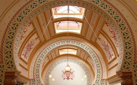 Harrogate's fabulously-decorated Victorian Turkish Baths - Credit: ALAMY