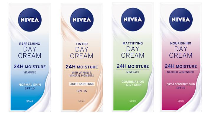 One of Nivea's 24h Day Creams is sold every 20 seconds.