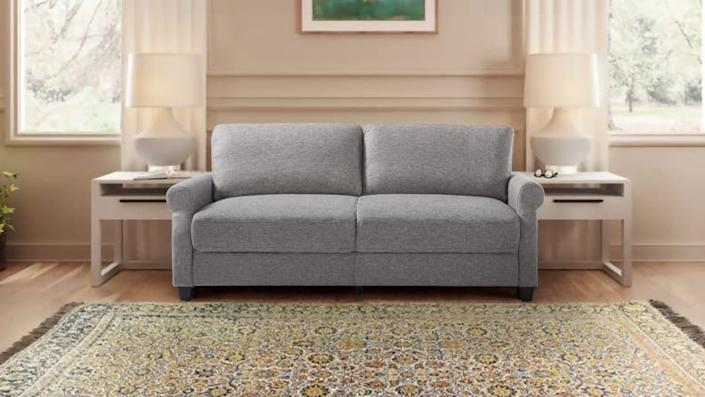 This small, classic sofa comes at a super affordable price.