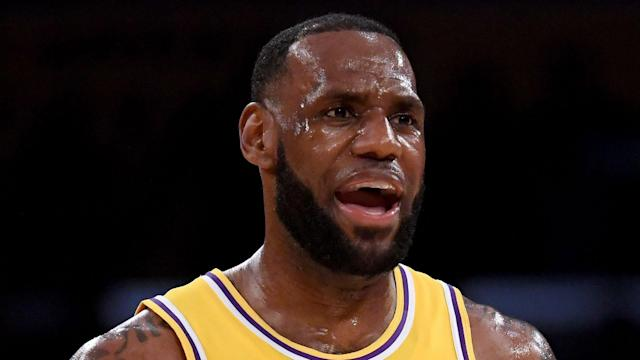 The fit-again Lonzo Ball is benefiting from LeBron James' words of wisdom after recovering from knee surgery.
