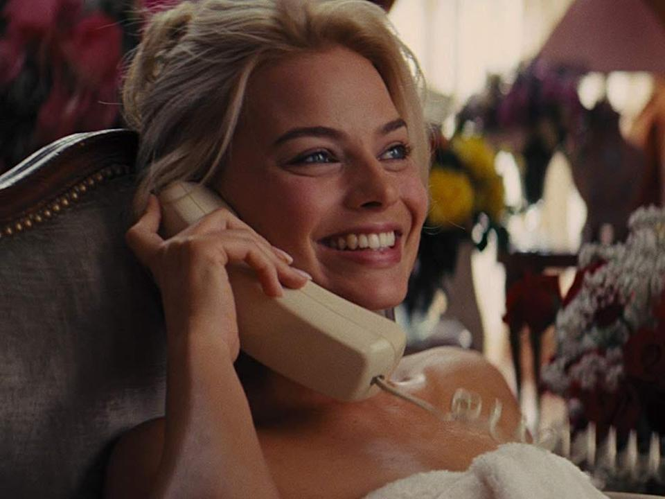 """Margot Robbie in """"The Wolf of Wall Street."""""""