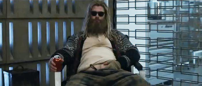 Chris Hemsworth's Thor channels 'The Big Lebowski' in 'Avengers: Endgame. (Photo: Marvel Studios/Disney)