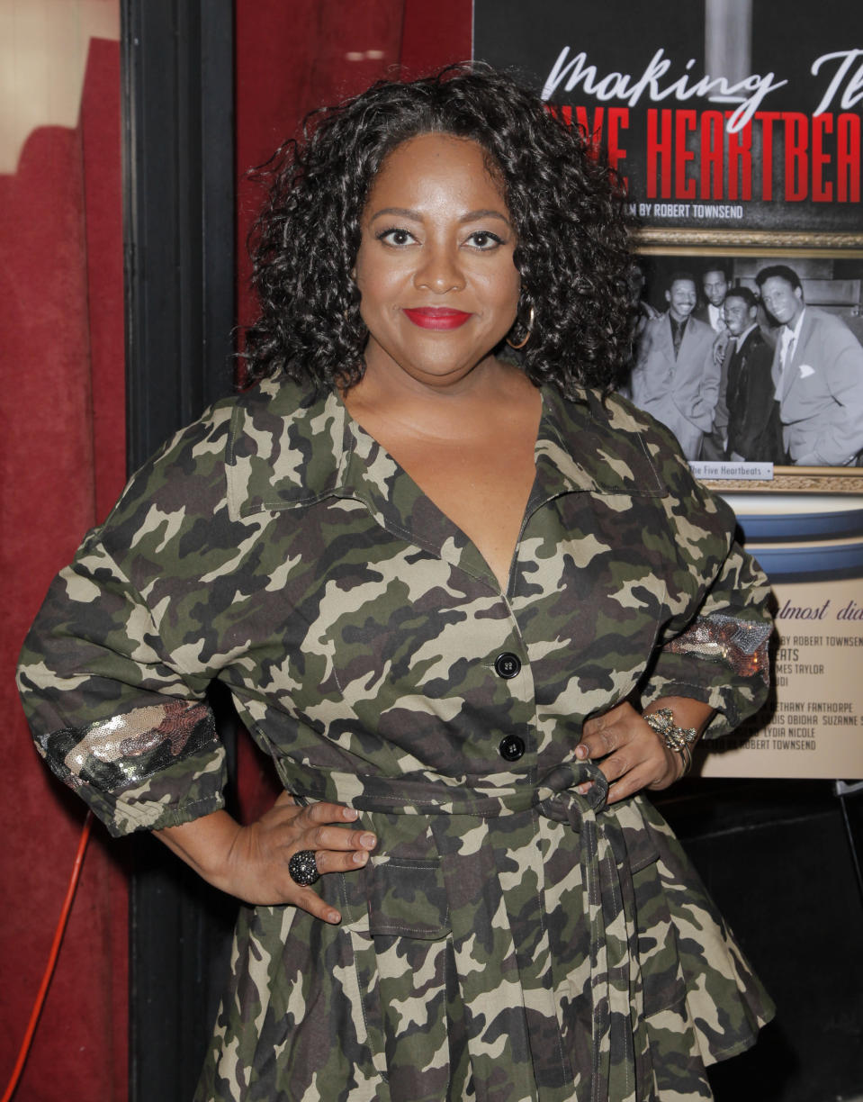 Sherri Shepherd at the <em>Making the Five Heartbeats</em> premiere on Nov. 27 in Beverly Hills. (Photo: Tibrina Hobson/Getty Images)