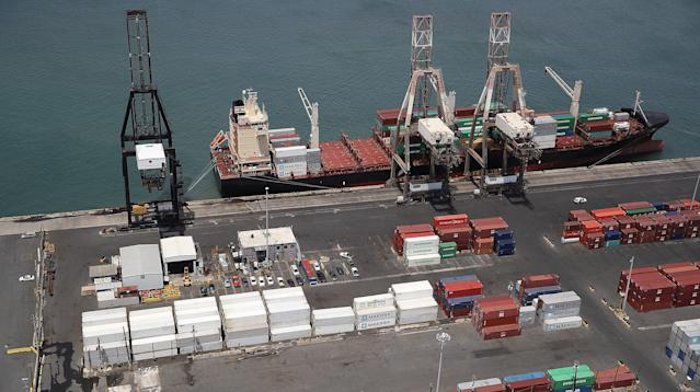 FEMA Insists Containers Sitting In San Juan Port Aren't Filled With Aid
