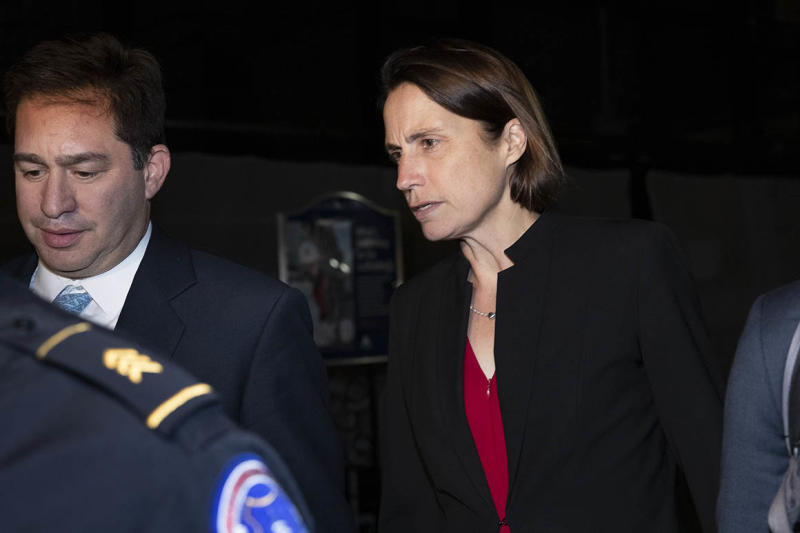 Read: Fiona Hill's opening statement at today's impeachment hearings