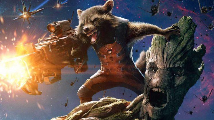Marvel's Rocket Raccoon and Groot from Guardians of the Galaxy