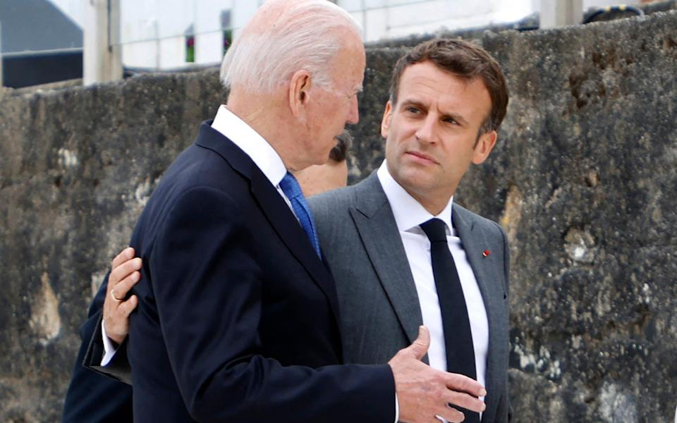 Relations between the US and France remain fraught - LUDOVIC MARIN/AFP via Getty Images/LUDOVIC MARIN/AFP via Getty Images