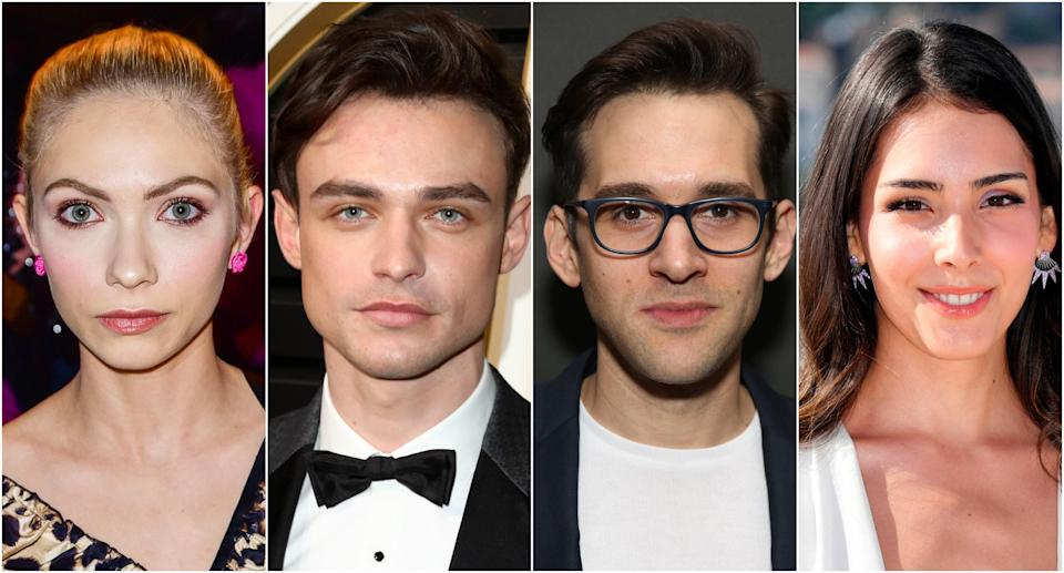 From left: Tavi Gavinson, Thomas Doherty, Adam Chanler-Berat, and Zion Moreno