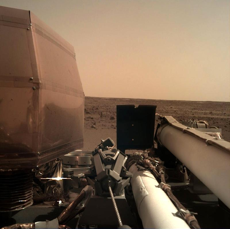 NASA's InSight lander captures first 'sounds' of wind on Red planet