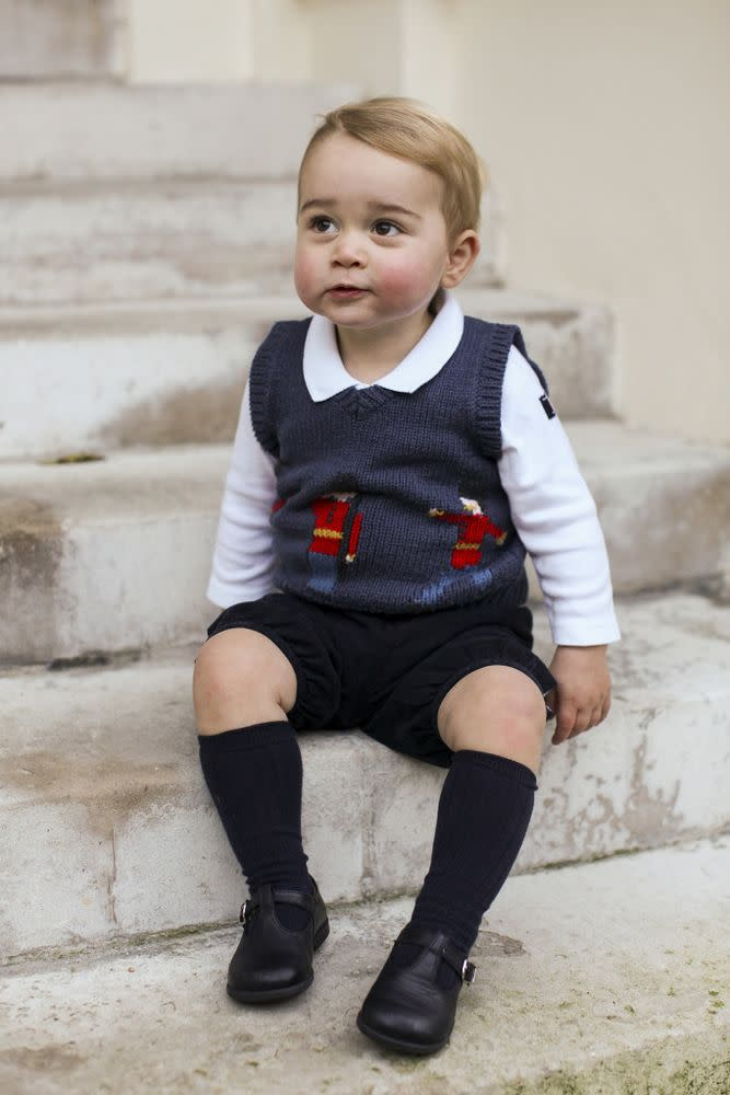 Prince George | The Duke and Duchess of Cambridge/PA Wire via Getty Images