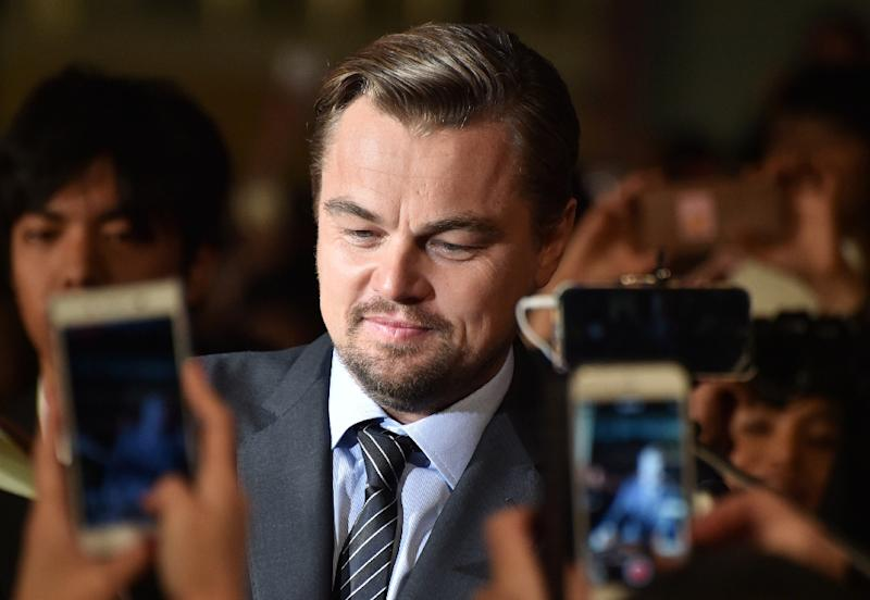 US actor and environmental campaigner Leonardo DiCaprio has turned his focus on illegal fishing, which accounts for up to 35 percent of the global wild marine catch (AFP Photo/Kazuhiro Nogi)