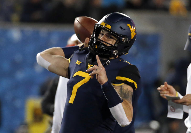 Will Grier West Virginia Qb Skipping Camping World Bowl Vs Syracuse