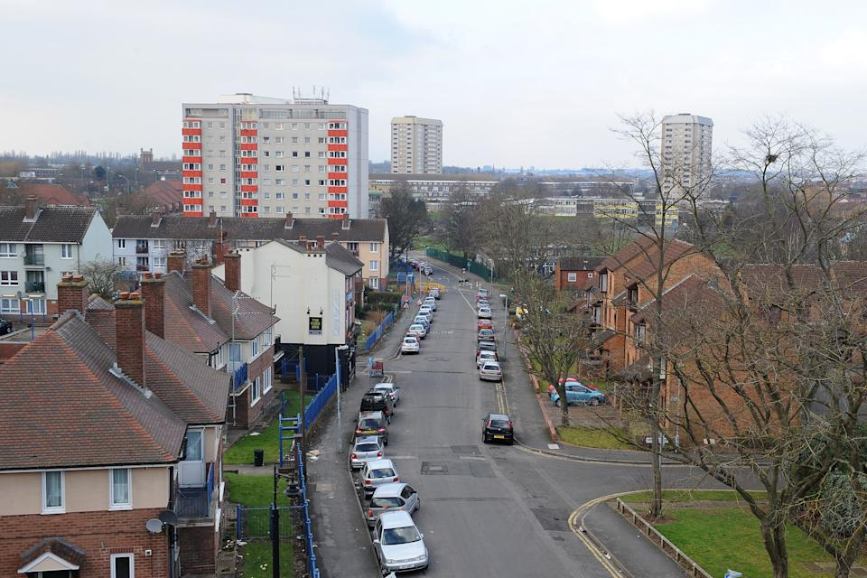 Ladywood, Birmingham which is one of the worst areas in the country for child poverty.