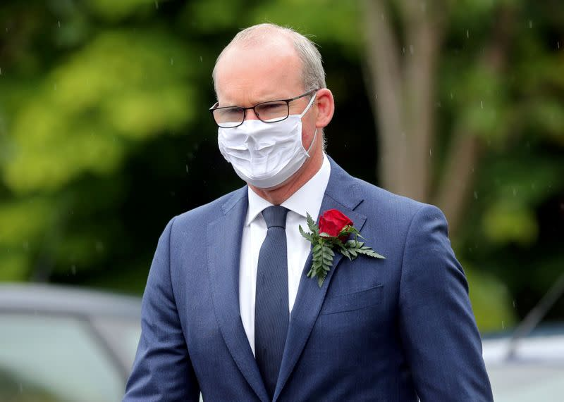 FILE PHOTO: Ireland's Coveney signals interest in EU Commission role