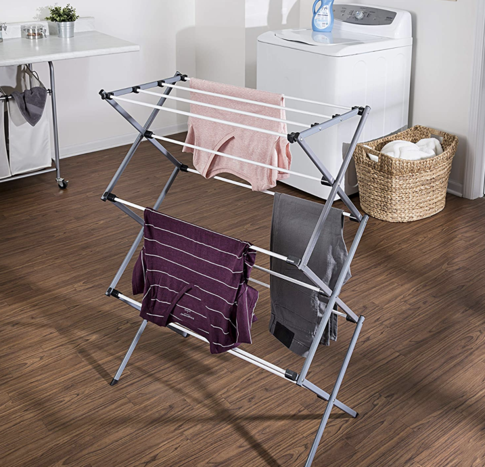 Honey-Can-Do Large Folding Drying Rack (Photo: Wayfair)