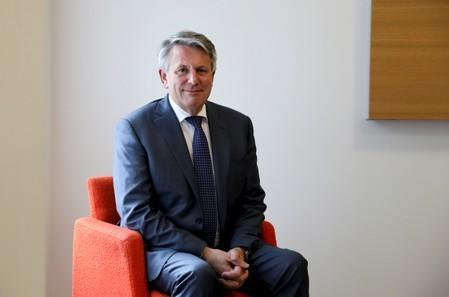 Ben Van Beurden, CEO of Shell, poses for a photograph in London