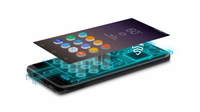 Samsung's Knox solution works on a multilayered approach by protecting the application layer, software layer and hardware layer.