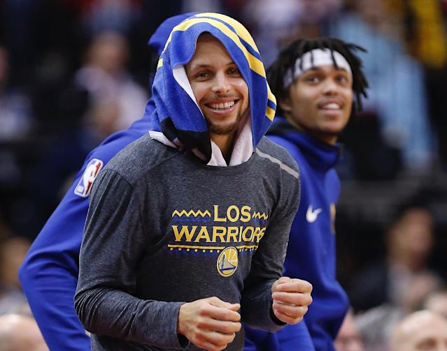 Steph Curry and the Warriors found their top gear against the Rockets Wednesday. Is it a strategy that will work in the playoffs? (Getty)