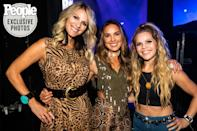 <p>For the final surprise of the night, Runaway June hit the Ryman stage.</p>