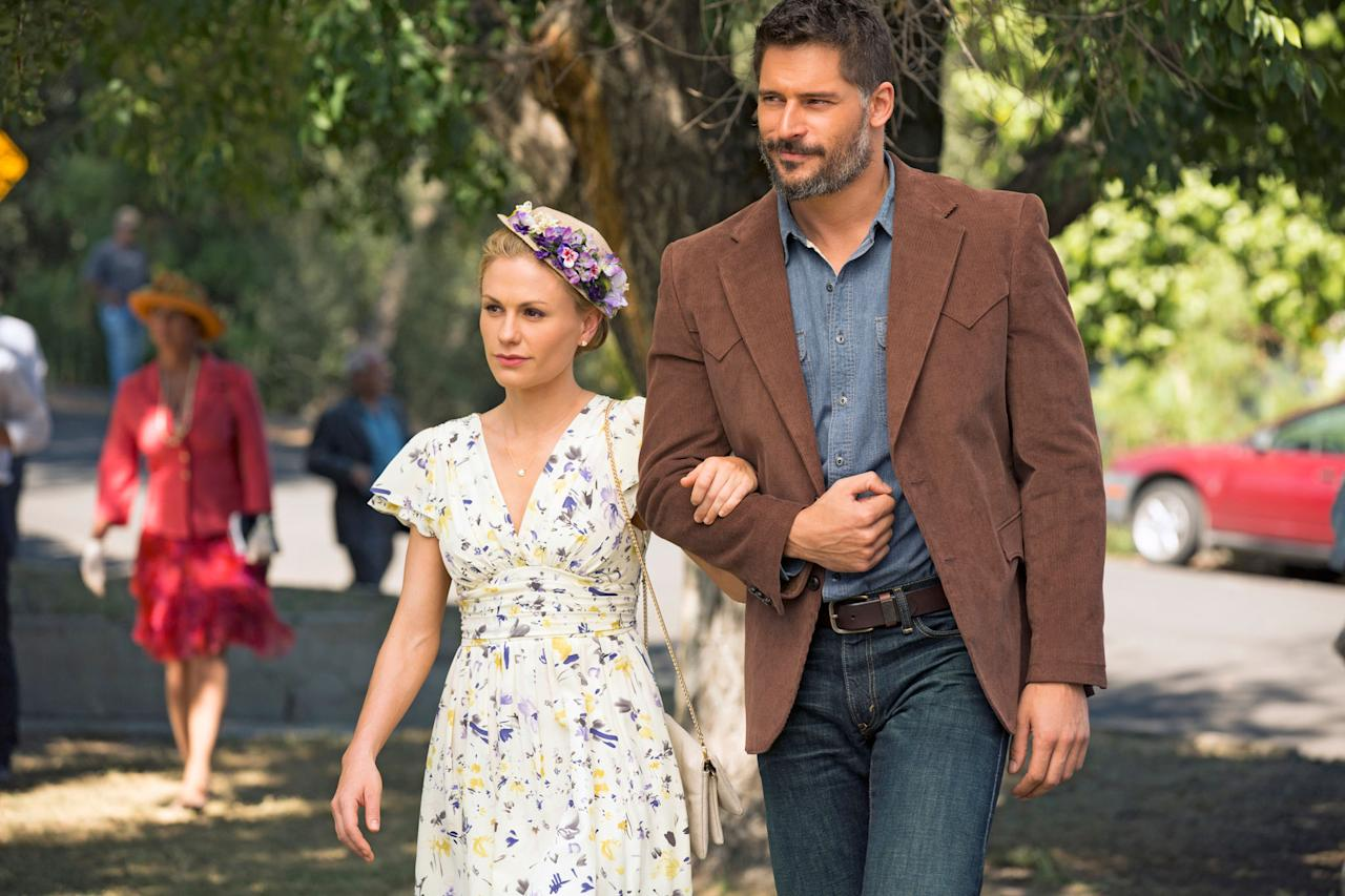 "Anna Paquin and Joe Manganiello in the ""True Blood"" Season 6 episode, ""Radioactive."""