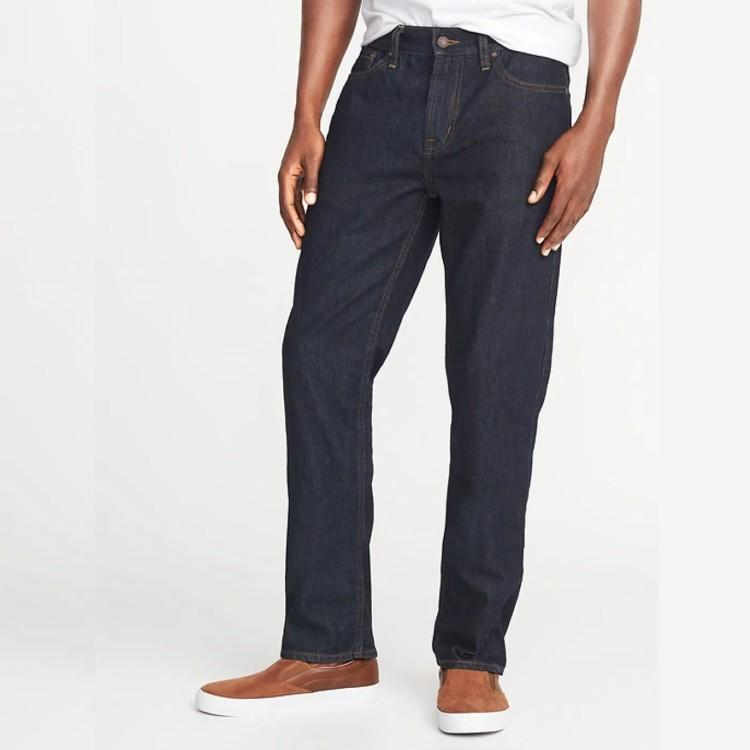 Straight Rigid Jeans For Men. (Photo: Old Navy)