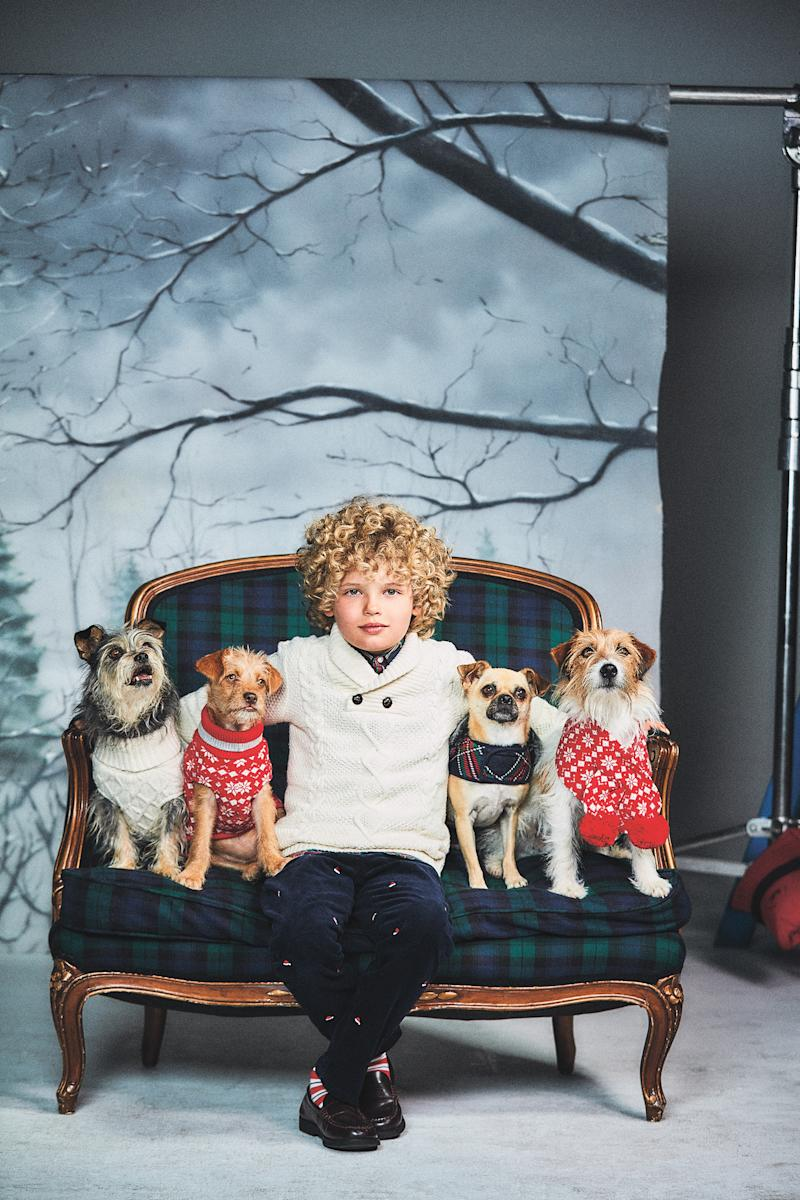 Janie and Jack Launches Awareness Campaign for National Adopt a Shelter Dog Month to Celebrate Limited-edition Family Dog Collection
