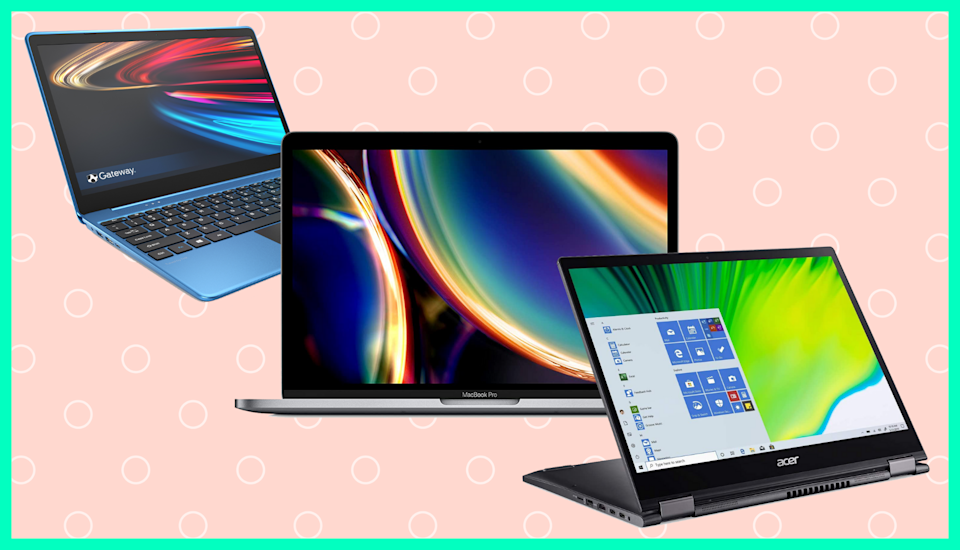 Ready for a next-level laptop? Take advantage of these unreal post-Christmas deals. (Photo: Yahoo Life)