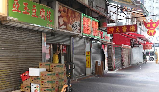 Businesses in Yuen Long have endured tough times with the district a focal point of Hong Kong's protest movement. Photo: Xiaomei Chen