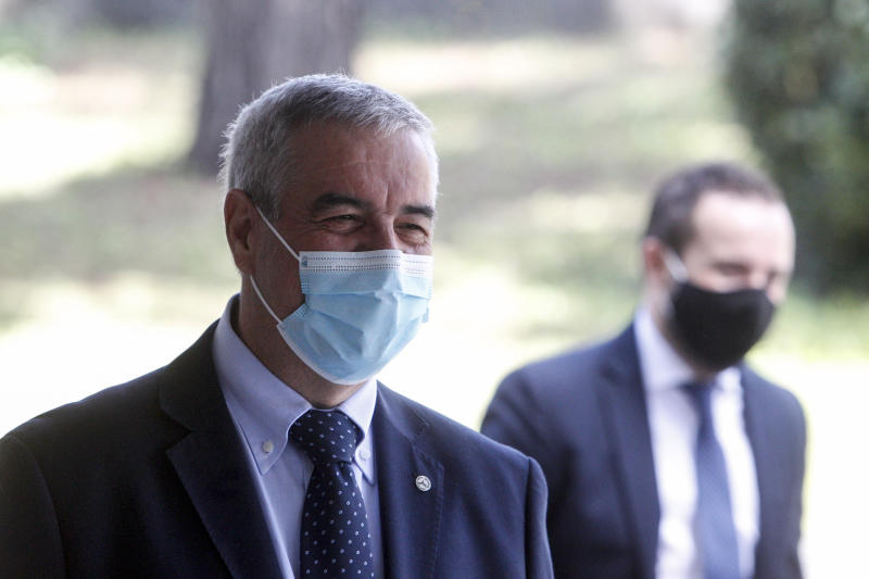 "Coronavirus, ""ondata di mezza estate"": interviene Borrelli (AP Photo/Riccardo De Luca)"