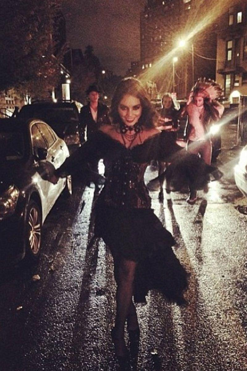 <p>As a vampire in the streets.</p>