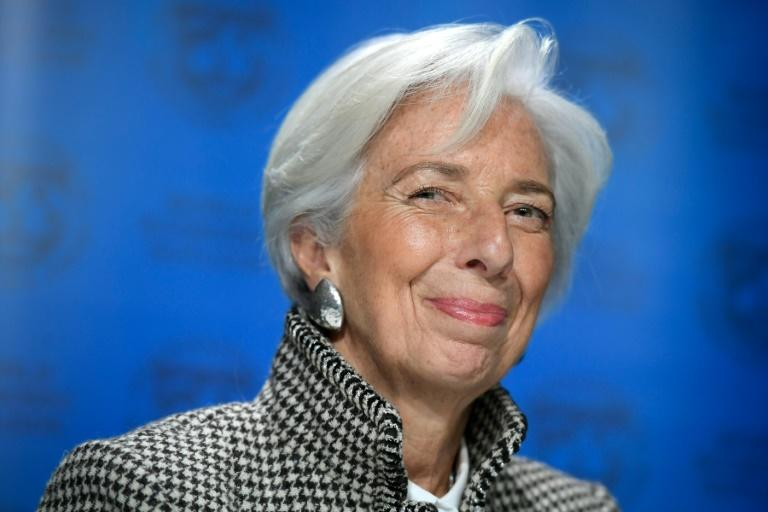 Davos woman: IMF head Christine Lagarde and other high-powered women remain in the minority at the World Economic Forum