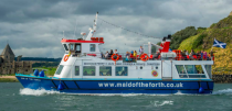 """<p>Strap on your sea legs, because the <a href=""""https://www.maidoftheforth.co.uk/"""" rel=""""nofollow noopener"""" target=""""_blank"""" data-ylk=""""slk:Maid of the Forth Boat Tours"""" class=""""link rapid-noclick-resp"""">Maid of the Forth Boat Tours</a> run sightseeing boat trips under the iconic Forth Bridges and to lovely Inchcolm Island.</p><p>Each sailing stops off at Inchcolm Island, where you have the option of going ashore. There are lots of places to explore on the Island, from the 12th Century Abbey to the wartime ammunition tunnel and buildings. Or just relax on one of two sandy beaches here, building sandcastles and taking in the views. </p><p>Plus, animal-enthusiasts will enjoy spotting the seals, dolphins, porpoises and even whales. </p>"""
