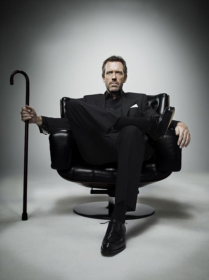 "Hugh Laurie (""House"") is nominated for Outstanding Lead Actor in a Drama Series."