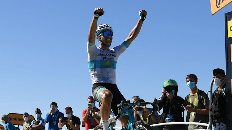 Lutsenko goes solo for magnificent maiden Tour de France stage win