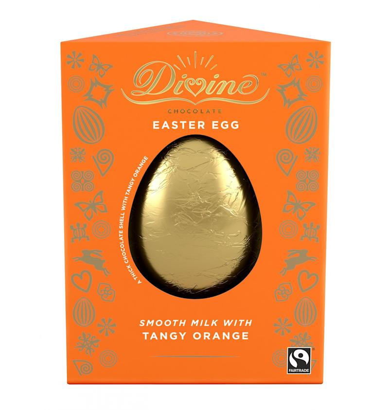 Divine Chocolate Orange Easter Egg