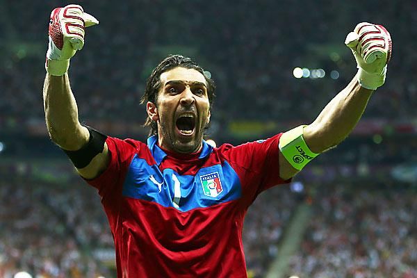 Gianluigi Buffon. Getty Images