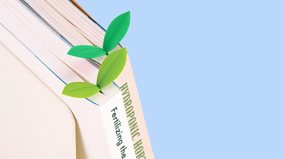 Best gifts for book lovers: Fred & Friends Sprout Little Green Bookmarks