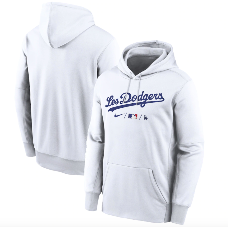 Dodgers Nike 2021 City Connect Performance Hoodie