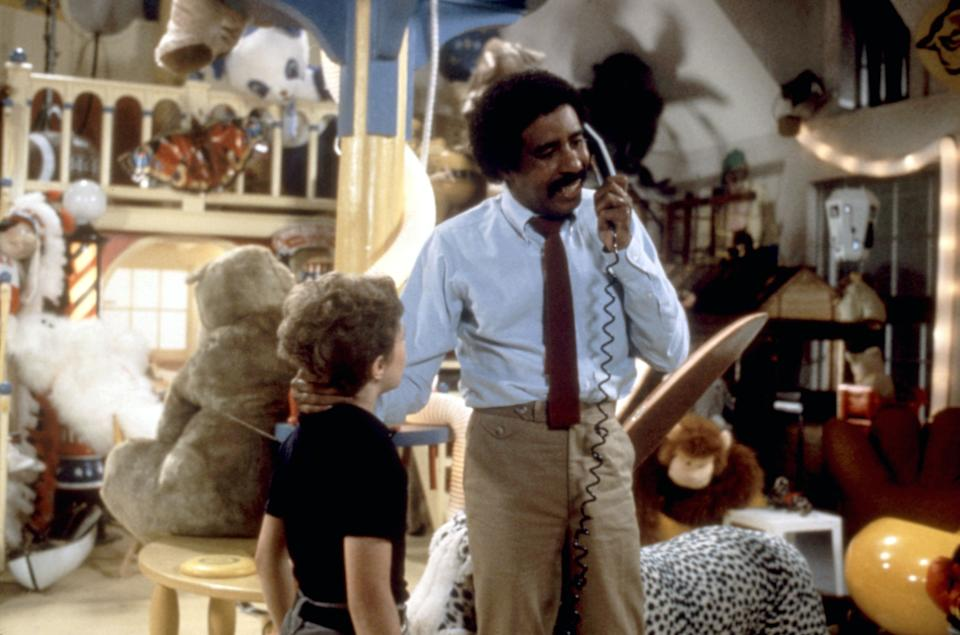 Scott Schwartz and Pryor in the 1982 comedy The Toy (Photo: Columbia/courtesy Everett Collection)