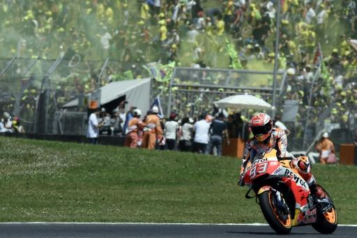 Marquez's lead was cut after he finished outside the points at Mugello