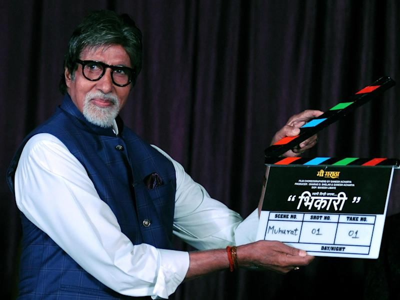 Indian Bollywood actor Amitabh Bachchan: Getty Images