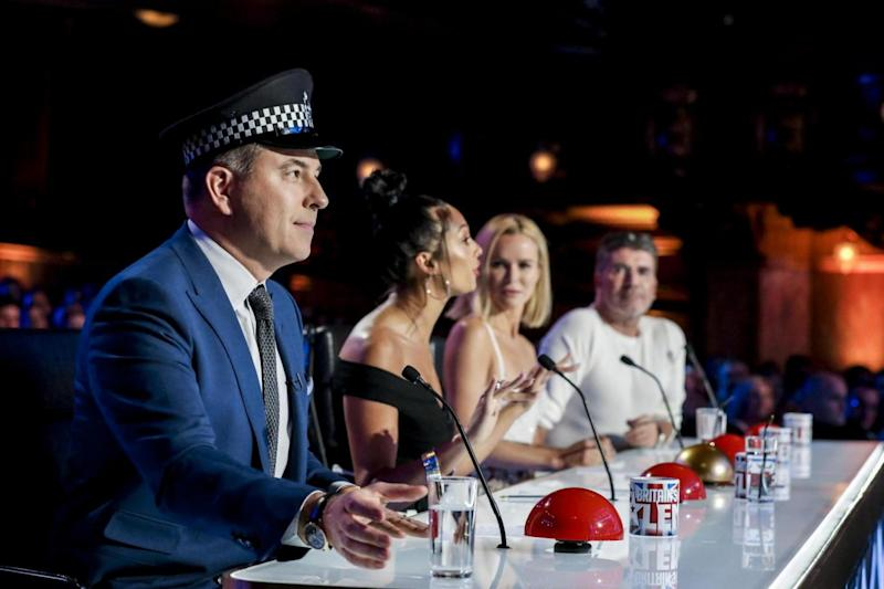 David Walliams: Will the judges be fans of the dancing policeman? (ITV/Thames/Syco)