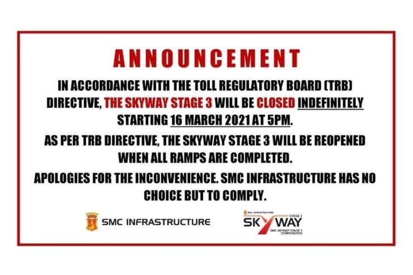 Skyway SOMCO announcement