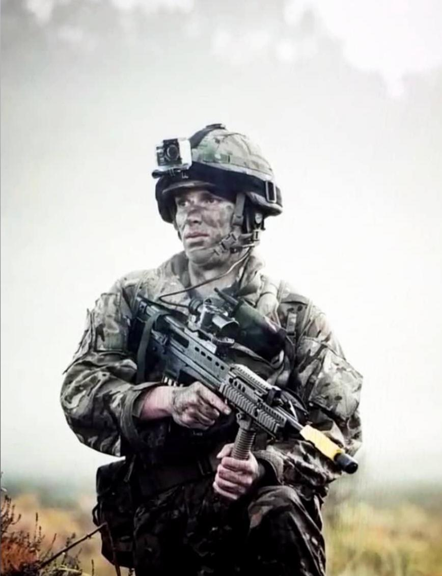Army medic Sam has credited the Duke of Edinburgh scheme with opening doors for his medical career (MoD/CrownCopyright/PA)