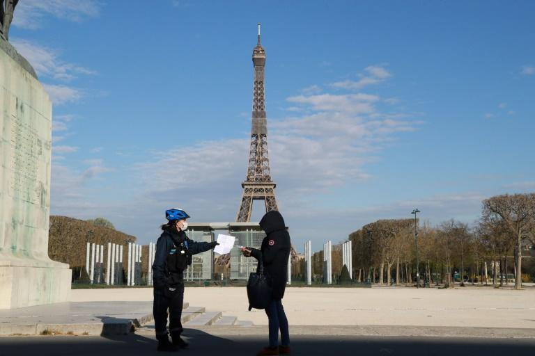 France prepared to enter a new month-long, limited lockdown from midnight Saturday after the country recorded its highest new caseload in nearly four months