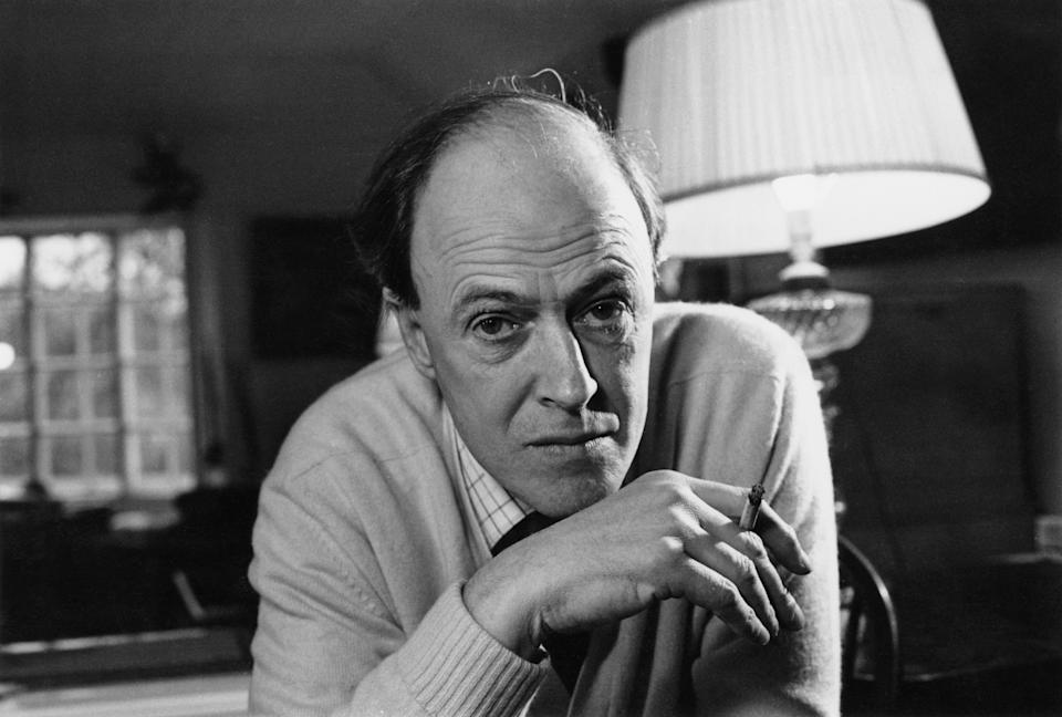 Roald Dahl, pictured in 1971. (Photo by Ronald Dumont/Daily Express/Hulton Archive/Getty Images)