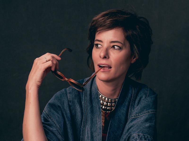 Actor Parker Posey, who narrates and executive produces the new documentary 'The Booksellers': Variety/Rex