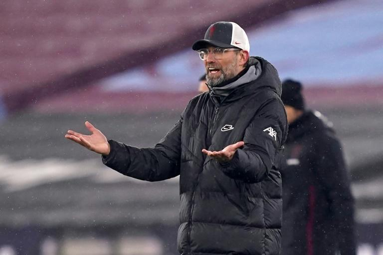 Jurgen Klopp's Liverpool side have been barred from entering Germany to face RB Leipzig in the Champions League